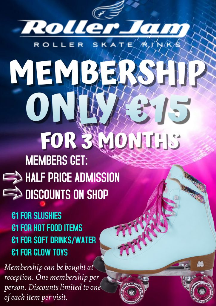 membership at rollerjam limerick discount